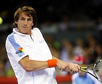 5-10-07, Netherlands, Eindhoven, Tennis, Alex Classics, Haarhuis