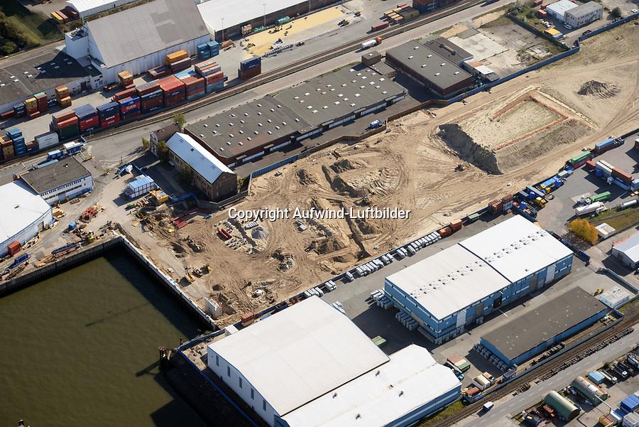 Steinwerder Hafen: EUROPA, DEUTSCHLAND, HAMBURG 13.10.2018 Steinwerder Hafen