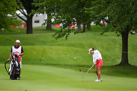 16th July 2021, Midland, MI, USA;  Minjee Lee (AUS) hits her third shot on 11 during the Dow Great Lakes Bay Invitational Rd3 at Midland Country Club on July 16, 2021 in Midland, Michigan.