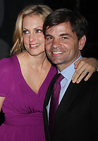 Ali Wentworth, George Stephanopoulos 04-30-09, Photo By John Barrett/PHOTOlink