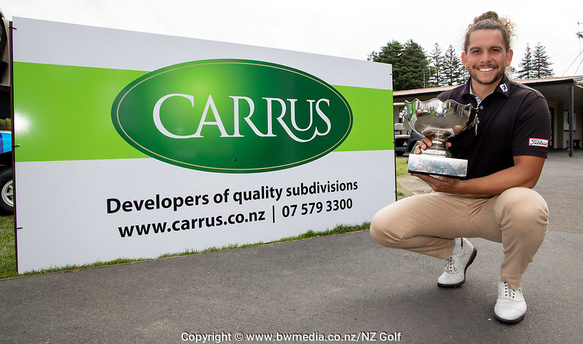 Jennian Homes Charles Tour Carrus Tauranga Open, Tauranga Golf Course, Tauranga, New Zealand, Sunday October 11 2020. Photo: Jamie Troughton/www.bwmedia.co.nz via Dscribe Media