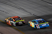 #19: Martin Truex Jr., Joe Gibbs Racing, Toyota Camry Bass Pro Shops and #18: Kyle Busch, Joe Gibbs Racing, Toyota Camry M&M's Hazelnut