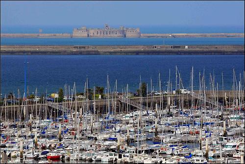 Cherbourg-en-Cotentin will host the 2021 Rolex Fastnet Race fleet © JM enault ville de Cherbourg en Cotentin