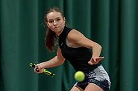 Wateringen, The Netherlands, March 16, 2018,  De Rhijenhof , NOJK 14/18 years, Nat. Junior Tennis Champ.  Perla Nieuwboer (NED)<br />  Photo: www.tennisimages.com/Henk Koster