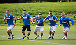 Dean Shiels, Fraser Aird, Lewis Macleod, Arnold Peralta and Stevie Smith