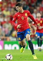 Spain's Alvaro Morata during FIFA World Cup 2018 Qualifying Round match. September 2,2017.(ALTERPHOTOS/Acero)
