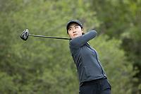 STANFORD, CA - APRIL 24: Yuki Youshihara at Stanford Golf Course on April 24, 2021 in Stanford, California.