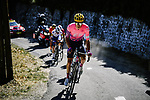 Neilson Powless (USA) EF Pro Cycling attacks his breakaway companions as they climb Col de la Lusette during Stage 6 of Tour de France 2020, running 191km from Le Teil to Mont Aigoual, France. 3rd September 2020.<br /> Picture: ASO/Pauline Ballet | Cyclefile<br /> All photos usage must carry mandatory copyright credit (© Cyclefile | ASO/Pauline Ballet)