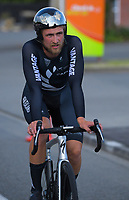 NZ's Regan Gough. Masterton circuit team time trials - Stage One of 2021 NZ Cycle Classic UCI Oceania Tour at Mitre 10 Mega in Masterton, New Zealand on Wednesday, 13 January 2021. Photo: Dave Lintott / lintottphoto.co.nz