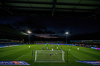 21st November 2020; Adams Park Stadium, Wycombe, Buckinghamshire, England; English Football League Championship Football, Wycombe Wanderers versus Brentford; A general view of the Adams Park stadium as the sun goes down