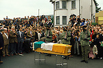 "Ireland The Troubles. Belfast  Funeral of IRA ""soldier"" 1980s Joe McDonnell"