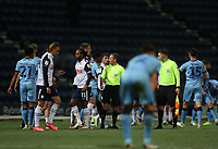 29th December 2020; Deepdale Stadium, Preston, Lancashire, England; English Football League Championship Football, Preston North End versus Coventry City; the Preston players react as the match ends in a 2-0 win for them