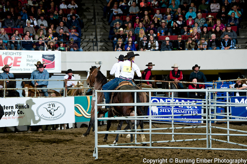 Lazy J3 Quarter Horses at the NILE Ranch Rodeo October 12th, 2019.  Photo by Josh Homer/Burning Ember Photography.  Photo credit must be given on all uses.