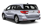 Car pictures of rear three quarter view of 2020 Honda Odyssey EX-L 5 Door Minivan Angular Rear