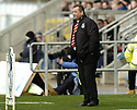 03/03/2007       Copyright Pic: James Stewart.File Name : sct_jspa17_falkirk_v_aberdeen.ABERDEEN MANAGER JIMMY CALDERWOOD WATCHES HIS TEAM AGAINST FALKIRK...James Stewart Photo Agency 19 Carronlea Drive, Falkirk. FK2 8DN      Vat Reg No. 607 6932 25.Office     : +44 (0)1324 570906     .Mobile   : +44 (0)7721 416997.Fax         : +44 (0)1324 570906.E-mail  :  jim@jspa.co.uk.If you require further information then contact Jim Stewart on any of the numbers above.........
