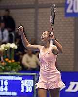 17-12-11, Netherlands, Rotterdam, Topsportcentrum,   Lesley Kerkhove wint de masters