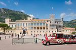 Fuerstentum Monaco, an der Côte d'Azur, Stadtteil Monaco-Ville: Fuerstenpalast Palais Princier | Principality of Monaco, on the French Riviera (Côte d'Azur), district Monaco-Ville: Prince's Palace of Monaco