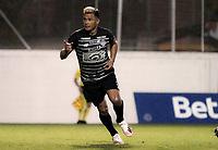 ENVIGADO - COLOMBIA, 13–02-2021: Teofilo Gutierrez de Atletico Junior celebra el gol anotado al Envigado F. C., durante partido entre Envigado F. C. y Atletico Junior de la fecha 6 por la Liga BetPlay DIMAYOR I 2021, en el estadio Polideportivo Sur de la ciudad de Envigado. / Teofilo Gutierrez of Atletico Junior celebrates a scored goal to Envigado F. C., during a match between Envigado F. C., and Atletico Junior of the 6th date for the BetPlay DIMAYOR I 2021 League at the Polideportivo Sur stadium in Envigado city. Photo: VizzorImage / Juan A Cardona/ Cont.