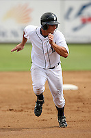 September 25, 2009:  Second Baseman Chris Sedon of the Detroit Tigers organization during an Instructional League game at Joke Marchant Stadium in Lakeland, FL.  Sedon was selected in the 10th round of the 2009 MLB Draft out of Pittsburgh.  Photo by:  David Stoner/Four Seam Images