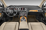 Straight dashboard view of a 2006 - 2011 Audi A6 ALLROAD QUATTRO Avus 5-Door Wagon 4WD
