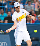 Sam Querrey of the US during his quarterfinal match at the Citi Open in Washington, DC on August 3, 2012.