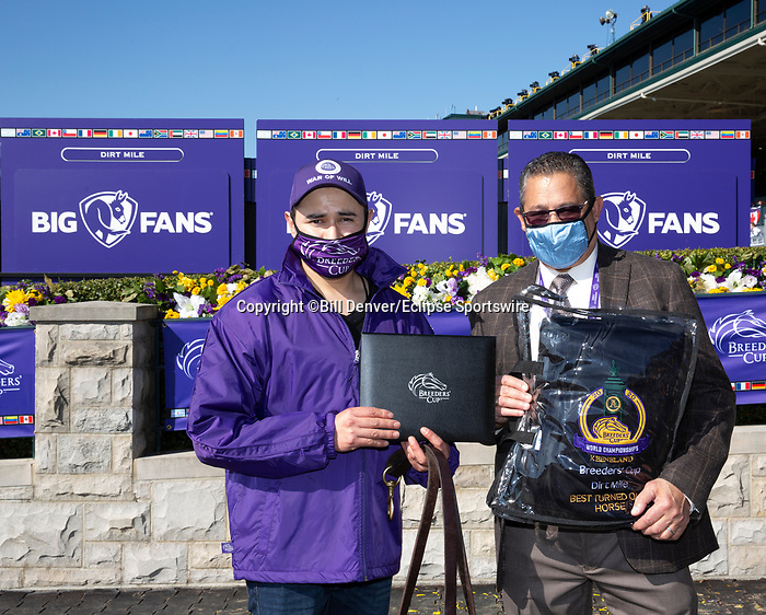 November 7, 2020 : Best Turned Out horse, Big Ass Fans Dirt Mile on Breeders' Cup Championship Saturday at Keeneland Race Course in Lexington, Kentucky on November 7, 2020. Bill Denver/Breeders' Cup/Eclipse Sportswire/CSM