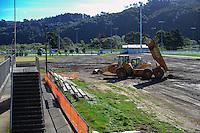 150419 Fraser Park Artificial Turf Construction