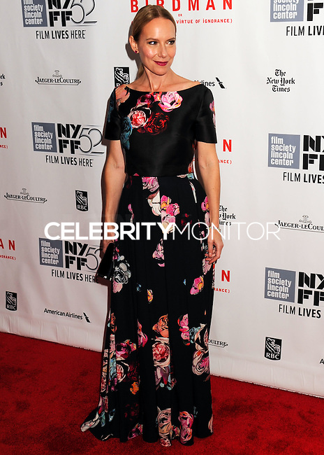 NEW YORK CITY, NY, USA - OCTOBER 11: Amy Ryan arrives at the 52nd New York Film Festival - Closing Night Gala Presentation Of 'Birdman Or The Unexpected Virtue Of Ignorance' held at Alice Tully Hall on October 11, 2014 in New York City, New York, United States. (Photo by Celebrity Monitor)