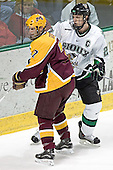 Gino Guyer, Matt Smaby - The University of Minnesota Golden Gophers defeated the University of North Dakota Fighting Sioux 4-3 on Friday, December 9, 2005, at Ralph Engelstad Arena in Grand Forks, North Dakota.