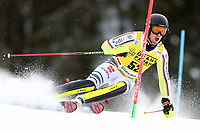 21st December 2020; Alta Badia Ski Resort, Dolomites, Italy; International Ski Federation World Cup Slalom Skiing; Julian Rauchfuss (GER)