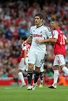 Pictured: Danny Graham of Swansea City in action. Saturday 10 September 2011<br /> Re: Premiership Arsenal v Swansea City FC at the Emirates Stadium, London.