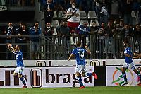 Mg Brescia 27/08/2021 - campionato di calcio serie B / Brescia-Cosenza / photo Image Sport/Insidefoto<br /> nella foto: esultanza gol Filip Jagiello