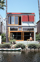 Venice CA: Mack House, Linnie Canal,  2001. Mark Mack, Architect. Photo '01.