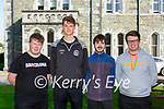 David Foley, Patrick Buckley, Eoin O'Connell and Darragh Doolan St Brendans College who received their Leaving Cert results  last Friday