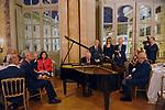 FEDELE CONFALONIERI SI ESIBISCE AL PIANO<br /> PREMIO GUIDO CARLI - QUINTA EDIZIONE<br /> PALAZZO DI MONTECITORIO - SALA DELLA REGINA<br /> CON RICEVIMENTO A PALAZZO COLONNA ROMA 2014