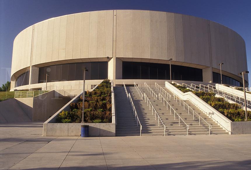 AJ3820, university, college, Reno, Nevada, L.E.C., Lawlor Events Center at the University of Nevada in Reno in the state of Nevada.