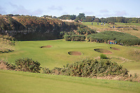 1st October 2021; Kingsbarns Golf Links, Fife, Scotland; European Tour, Alfred Dunhill Links Championship, Second round; A general view of  Kingsbarns Golf Links