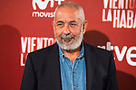 "The writer of the book, Leonardo Padura attends to the presentation of the spanish film ""Vientos de la Habana"" in Madrid. September 27, 2016. (ALTERPHOTOS/Borja B.Hojas)"