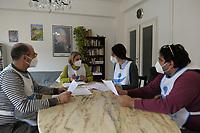 PROGETTO ARCA<br /> Il cohousing di Casa Arca di Roma.<br /> Il coordinamento degli operatori e della coordinatrice.