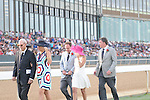 April 12, 2014: Charles Cella, President of Oaklawn, at the Arkansas Derby at Oaklawn Park in Hot Springs, AR. Zoie Clift/ESW/CSM