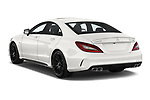 Car pictures of rear three quarter view of 2017 Mercedes Benz CLS-Class AMG-CLS63-4MATIC 4 Door Sedan Angular Rear