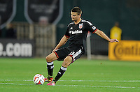 Washington D.C. - March 8, 2014: Perry Kitchen (23) of D.C. United. The Columbus Crew defeated D.C. United 3-0 during the opening game of the 2014 season at RFK Stadium.