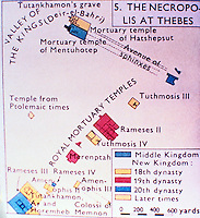 Poster of the Necropolis at Thebes.