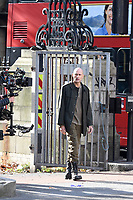 OCT 16 'The Temple' Sky One TV drama series 2 filming in central London