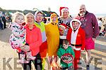 Members of the Hartnett family from Abbeyfeale at the Con Hartnett Memorial swim in Ballybunion on New Years Day.<br /> L to r: Kathleen Hartnett, Mags O'Sullivan, Mag Nash, Chrissie O'Donnell, Conor Hartnett, Daniel Moran, James Hartnett and Billy O'Sullivan.