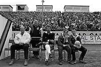 Pix:Michael Steele/SWpix...Odsal Stadium, Bradford. Rugby League. From the book 'When Push Comes to Shove'....COPYRIGHT PICTURE>>SIMON WILKINSON..Reserve official, Odsal Stadium.