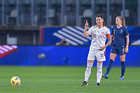 Swiss Ramona Bachmann (10) pictured during the 2nd Womens International Friendly game between France and Switzerland at Stade Saint-Symphorien in Longeville-lès-Metz, France.