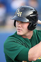 Lynchburg Hillcats outfielder Adam Milligan #25 during a game against the Wilmington Blue Rocks at Frawley Stadium on May 3, 2011 in Wilmington, Delaware.  Lynchburg defeated Wilmington by the score of 11-1.  Photo By Mike Janes/Four Seam Images