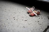 post-race shoes<br /> <br /> Jaarmarktcross Niel 2015