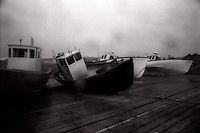 Beached tugboats<br />